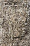 Mysterious megalithic Tiya pillars, UNESCO World Heritage Site, Ethiopia. Decoration of mysterious megalithic Tiya stone pillars, UNESCO World Heritage Site Stock Photos