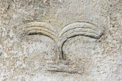 Mysterious megalithic Tiya pillars, UNESCO World Heritage Site, Ethiopia. Decoration of mysterious megalithic Tiya stone pillars, UNESCO World Heritage Site Stock Photography