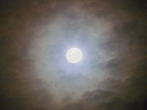 Mysterious moon Royalty Free Stock Photography