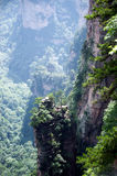 Mysterious mountains Zhangjiajie, Hunan Province in China. Stock Photo