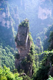 Mysterious mountains Zhangjiajie, Hunan Province in China. Royalty Free Stock Photos
