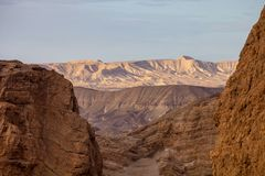 Mysterious Negev Desert, Israel Royalty Free Stock Photo