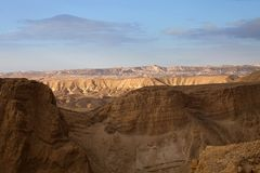 Mysterious Negev Desert, Israel Royalty Free Stock Photography