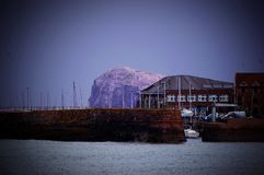 Mysterious North Berwick Mountain Stock Image