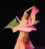 The mysterious oriental women-Turkey belly dance-the Austria's world Dance Stock Image