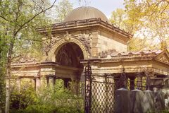 Mysterious place, beautiful old temple Stock Photography