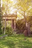 Mysterious place, beautiful old temple Stock Image