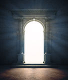 Mysterious Portal Stock Image