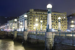 Mysterious San Sebastian Stock Photography