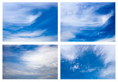 Mysterious sky Stock Image