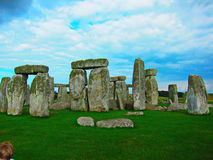 Mysterious stone in england Royalty Free Stock Images
