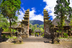 Mysterious temples of Bali, Indonesia Royalty Free Stock Image