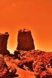 Mysterious terrestrial planet Stock Photos