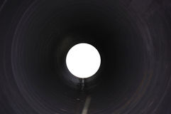 Mysterious tunnel hole Stock Photography