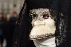 Mysterious Venetian mask Stock Image
