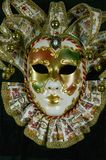 Mysterious venetian mask Stock Photos