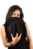 Mysterious Woman Royalty Free Stock Photo
