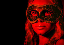 Mysterious woman Royalty Free Stock Image