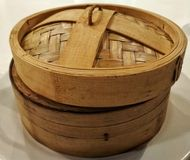 Mysterious Wooden Box Stock Photos