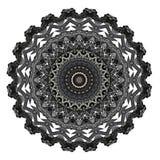 Mysteriously digital art design of filigree ornamental carved wood. Digital art design. Pattern with wooden mysteriously carved pattern on white background vector illustration