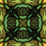Mysteriously digital art design of interlocking circles and stars. Digital art design. Pattern with architectural mysteriously interlocking circles and stars i royalty free illustration