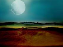 mysterius ландшафта Стоковое фото RF