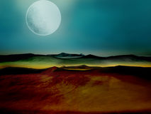 mysterius krajobrazu Zdjęcie Royalty Free