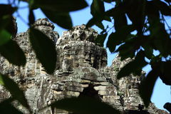 The mystery of angkor wat Royalty Free Stock Photos