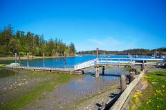 Mystery Bay, Marrowstone island. Olympic Peninsula. Washington State. Stock Image