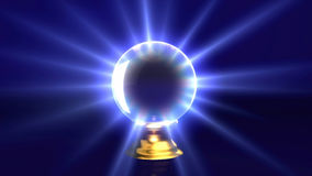 Mystery crystal ball Royalty Free Stock Images