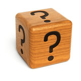 Mystery dice Royalty Free Stock Photos