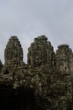 Mystery face at Angkor Thom Royalty Free Stock Images