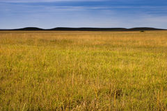 Mystery Hills in the Kansas Tallgrass Prairie Stock Photo