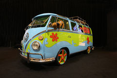 Mystery machine. On display at the Los Angeles Auto Show Royalty Free Stock Photos
