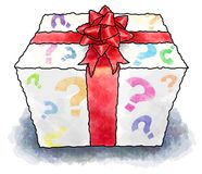 Mystery present Royalty Free Stock Photography
