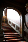 Mystery stairs. In the Netherlands castle Stock Photos