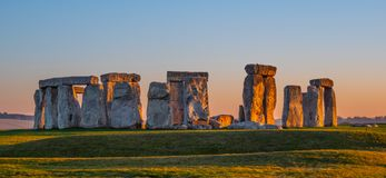 The mystery of Stonehenge in England royalty free stock image
