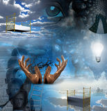 Mystery Surreal Royalty Free Stock Photography