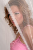 Mystery woman Stock Photography