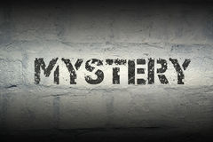 Mystery WORD GR Royalty Free Stock Images