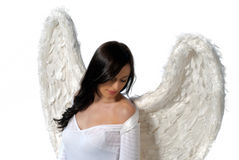 Mystic angel Stock Image