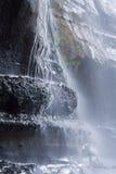 Mystic Beach Waterfall Royalty Free Stock Photography