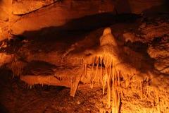 Mystic Caverns - Stalactites and Stalagmites - 14 royalty free stock photography