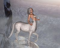 Mystic Centaur Stock Photos
