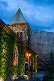 Mystic Church. Ruzica church in Kalemegdan fortress, was built as a church for soldiers, Belgrade, Serbia Stock Photography