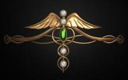 Mystic circlets  Royalty Free Stock Photos