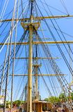 Whaling ship Charles W. Morgan royalty free stock image