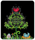 Mystic Easter card Stock Images