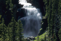 Mystic Falls, Yellowstone National Royalty Free Stock Photos