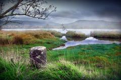 mystic flod Royaltyfri Bild